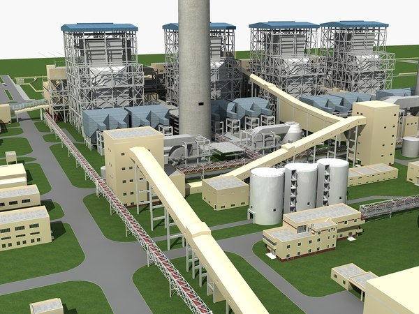 3D thermal power plant
