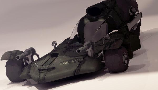 3D survival car model