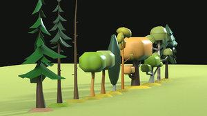 tree pack 3D