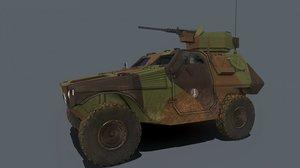 3D vbl pack model