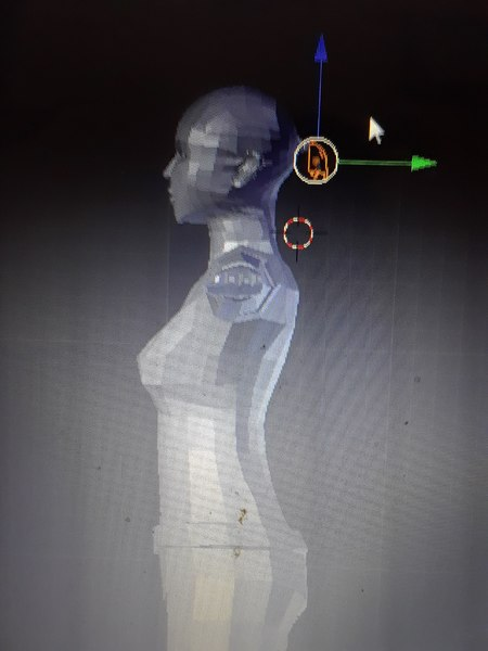 woman female 3D