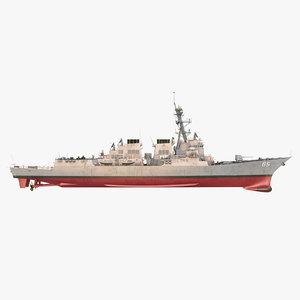 uss mccampbell model