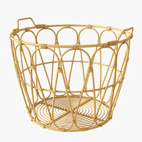 Ikea Snidad  Basket Rattan