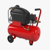 3D fubag air master compressor model