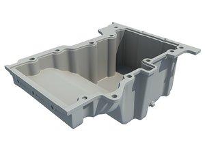 oil sump pan 3D