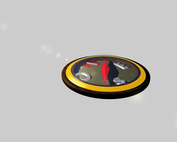 compass travel adventure 3D model