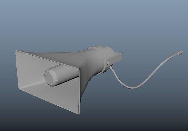 loud speaker model
