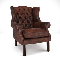 EICHHOLTZ Club Chair Bradley 3D model