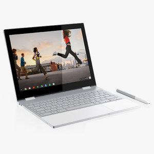 google pixelbook 3D model