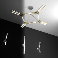 pelle pris lamp 3D model