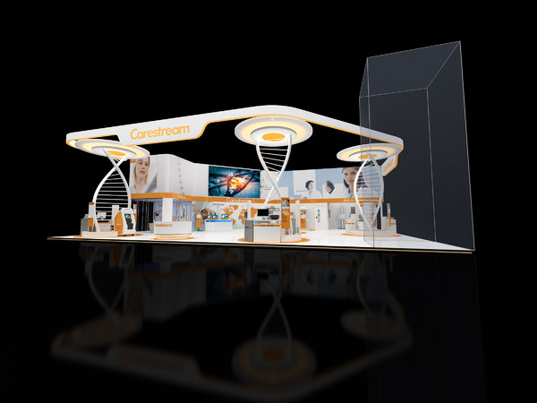 3D medical exhibition stand