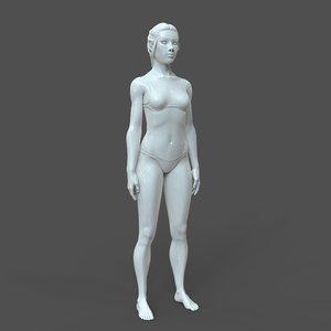 woman cad 3D model
