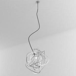 terzani doodle pendant 3D model