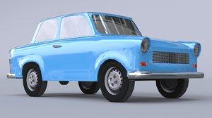 3D trabant p601 series