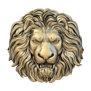 3D mask lion print