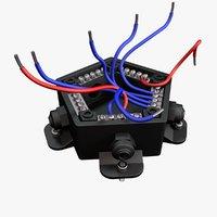 3D electric circuit box