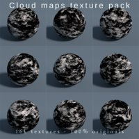 3D planets earth maps cloud model