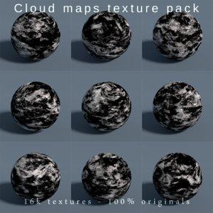 3D planets earth maps cloud model