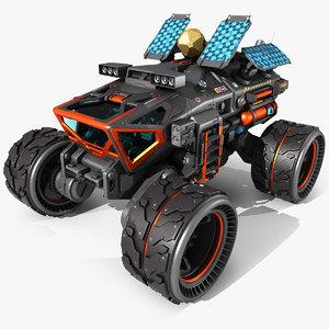 exoplanet rover 3D model