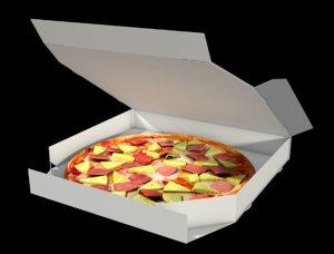 pizza fast food 3D