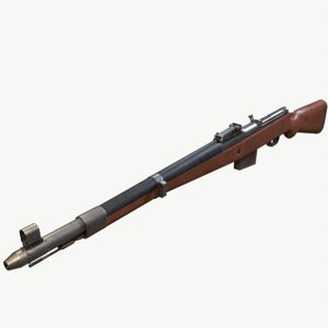 gun rifle model