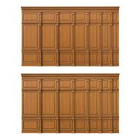 3D wooden panels wood wall