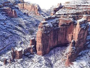 3D winter mountains colorado