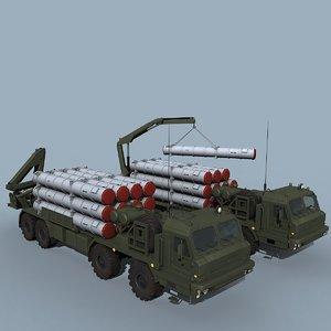 9t243m buk-m3 truck 3D