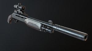 3D gun shotgun