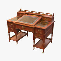 19th Century  Bankers Desk Bureau