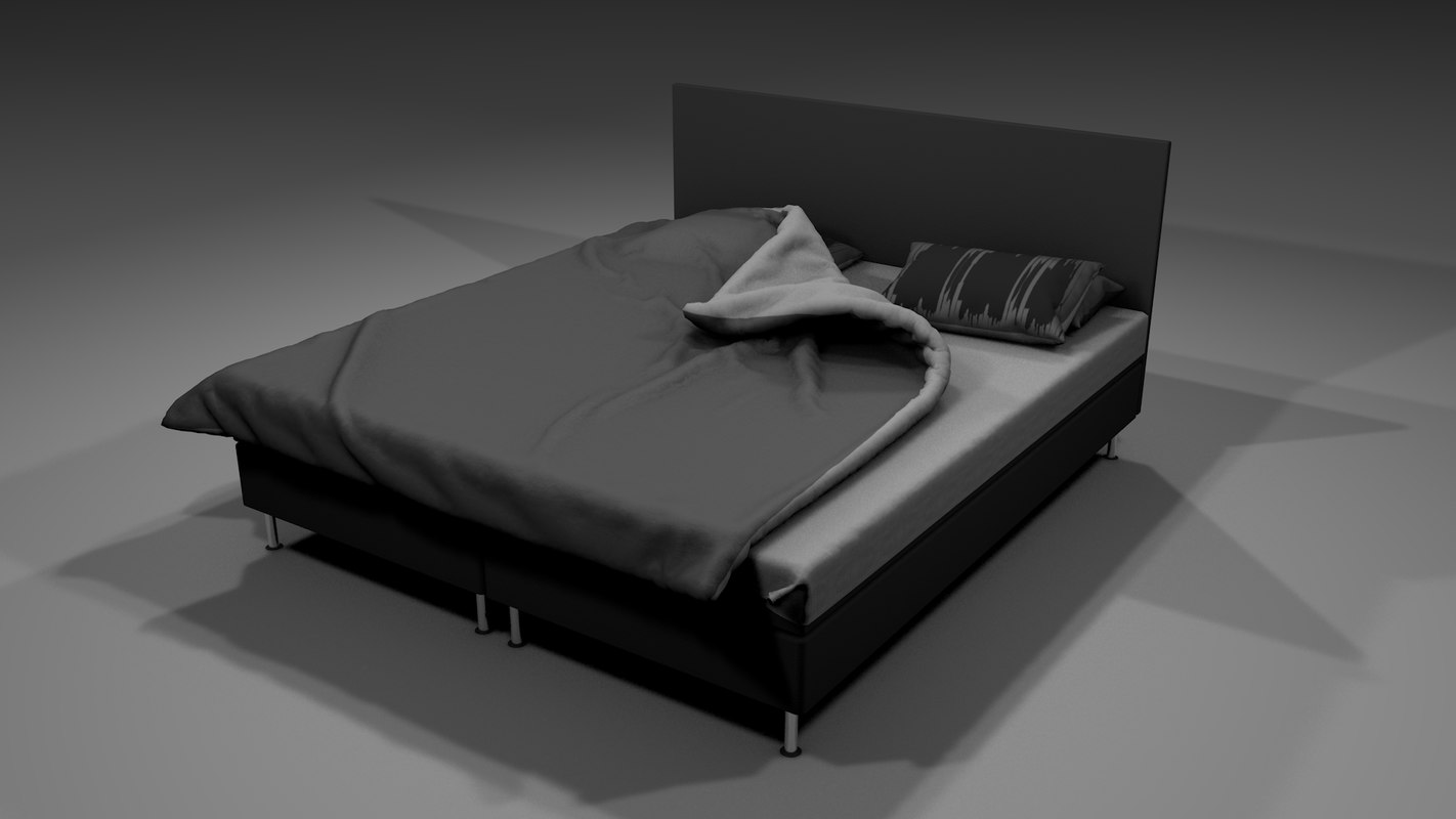 marvelous bed 3D