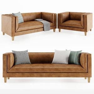 vittoria furniture chair 3D model