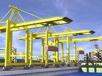 port sea 3D model