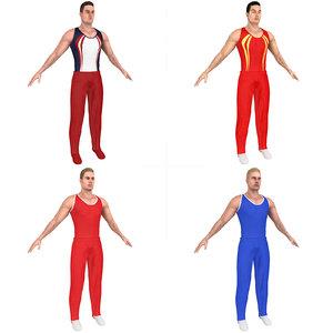 pack gymnast model