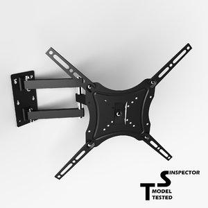 tv wall mount 3D model