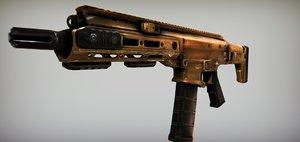 3D acr rifle