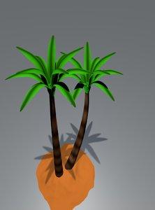 dattier la paume date-palm model