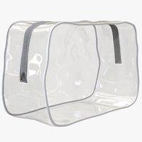 3D zipper bag