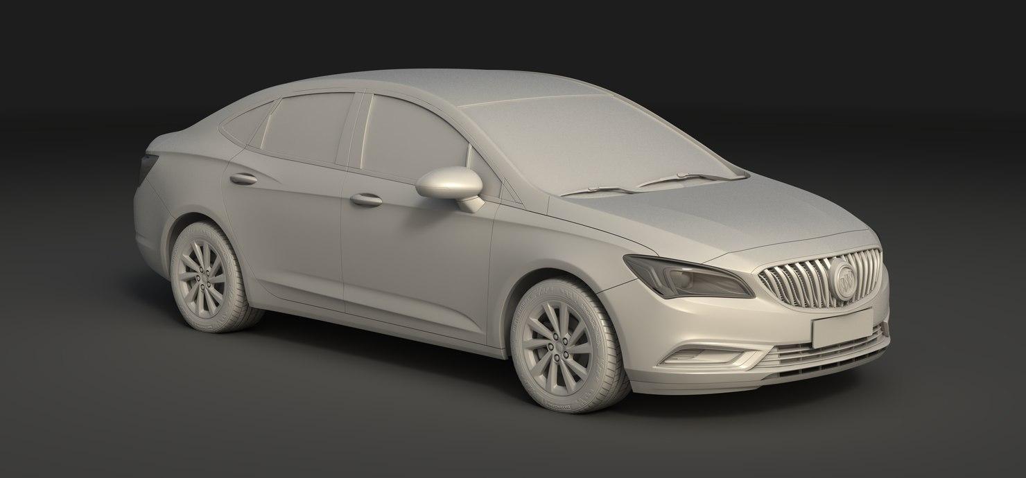 buick weilang 3D model