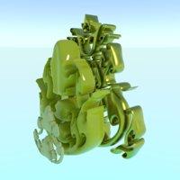 3D model asset thaiart