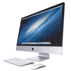 apple computer 3D model