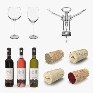 wine 2 3D