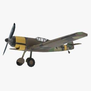 messer messerschmitt bf 3D model