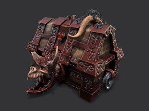 chest ingot fantasy model