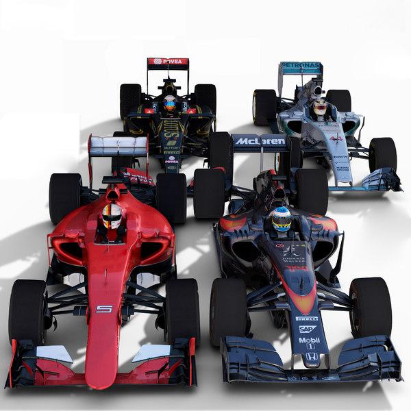3d model ferrari cars