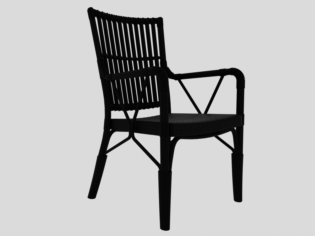 3D piano chair sika design model