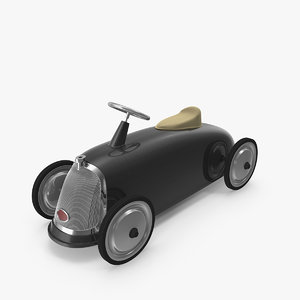 3D toy car roadster scoot