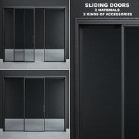 sliding doors rimadesio velaria 3D model