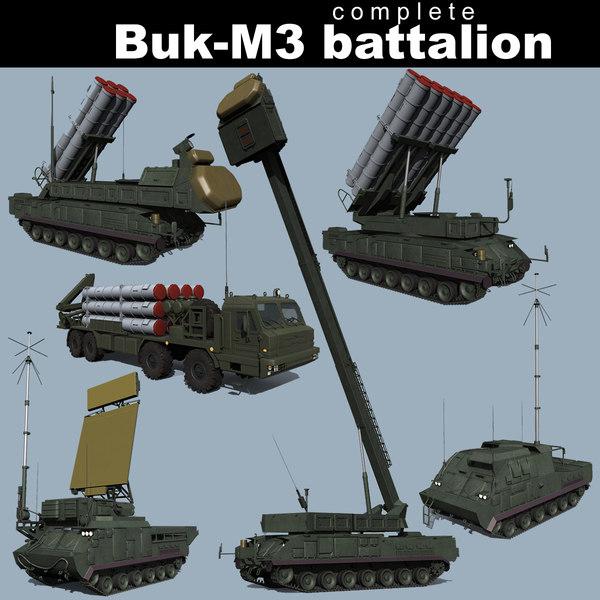 battalion buk-m3 3D model