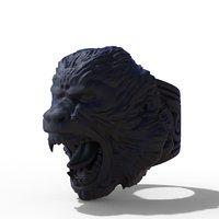 3D ring monkey